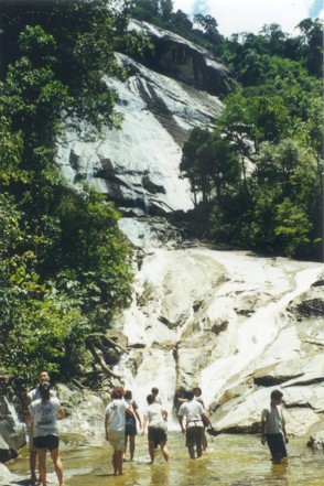 Jelawang waterfall