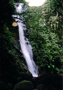 Sungei Tampit waterfall